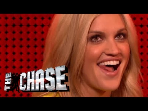 The Celebrity Chase  Ashley Roberts Flirts With The Chaser