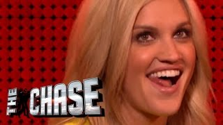 The Celebrity Chase - Ashley Roberts Flirts With The Chaser