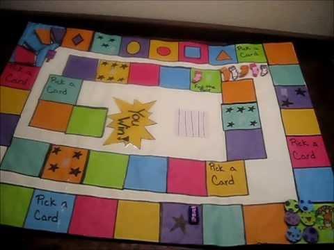 Kids Board Game 2 Youtube