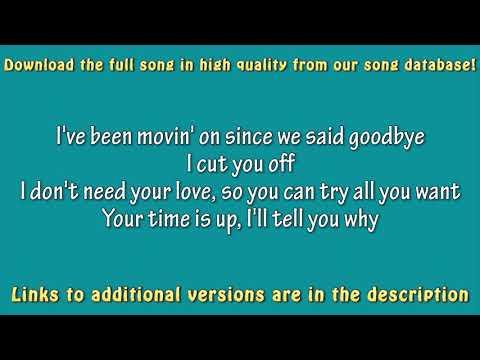 Dua Lipa - IDGAF (Acoustic Guitar) Karaoke