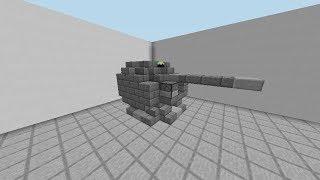 【minecraft軍事部】6分30秒でわかる!艦砲の作り方!