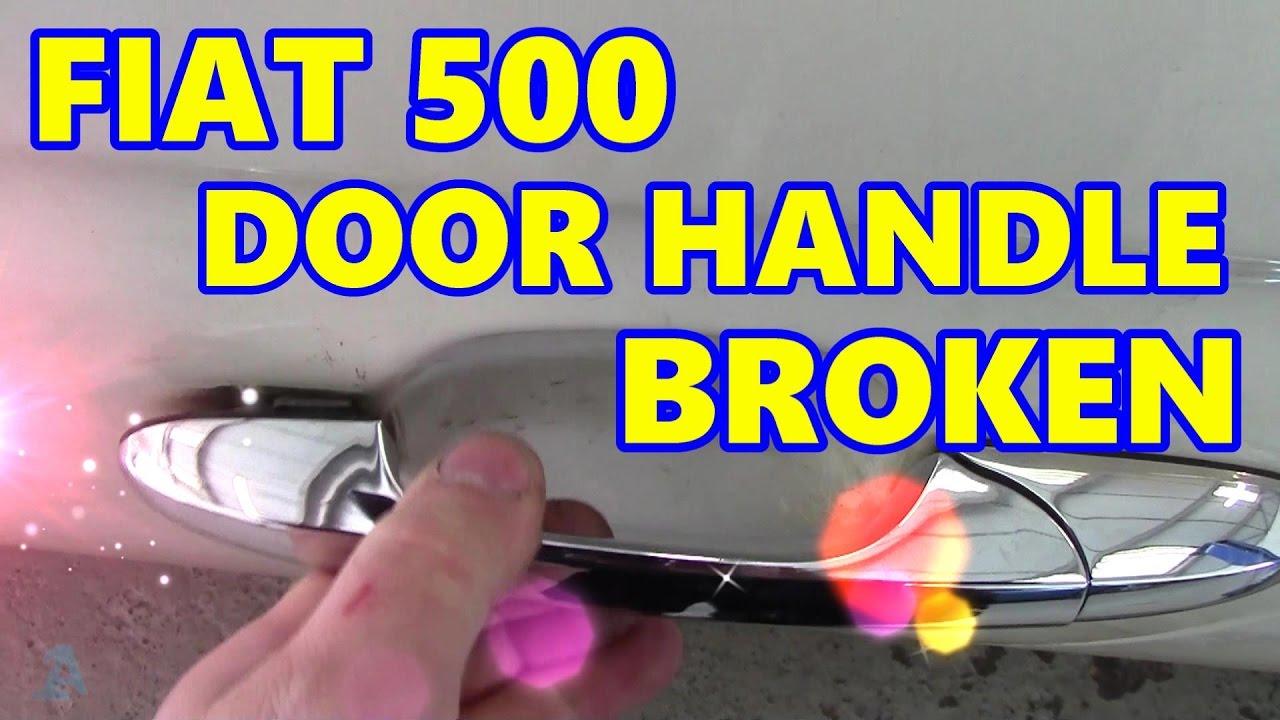 Fiat 500 door handle recall