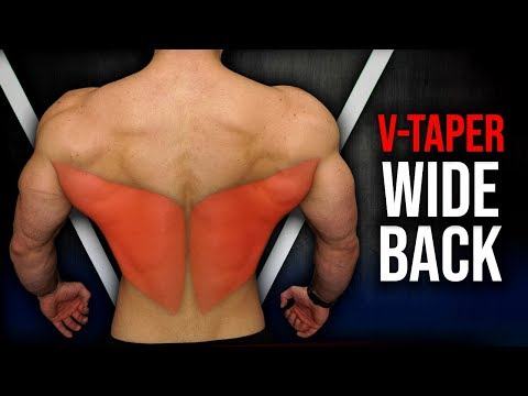 "How to Get A ""V-Taper"" Back FAST (DO THIS FOR A WIDE BACK/ LATS!!)"
