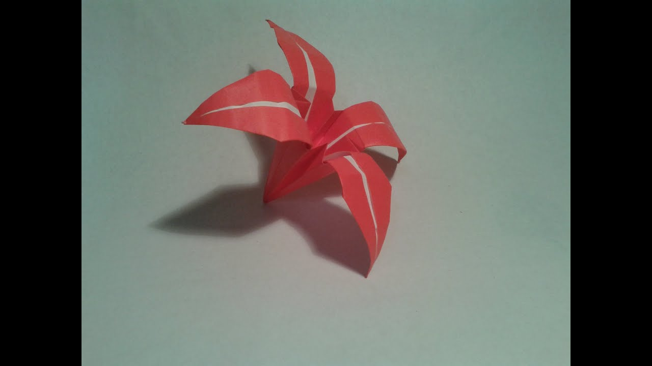 Origami How To Make An Easy Origami Flower Origami Instructions