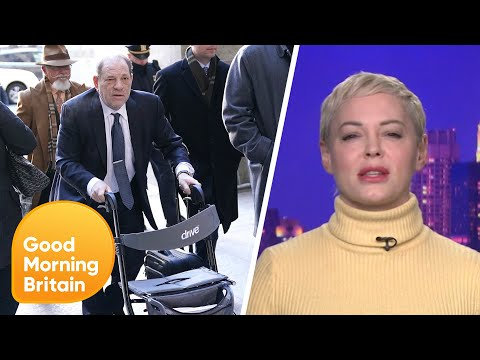 Rose McGowan Reacts to Harvey Weinstein's Guilty Conviction   Good Morning Britain