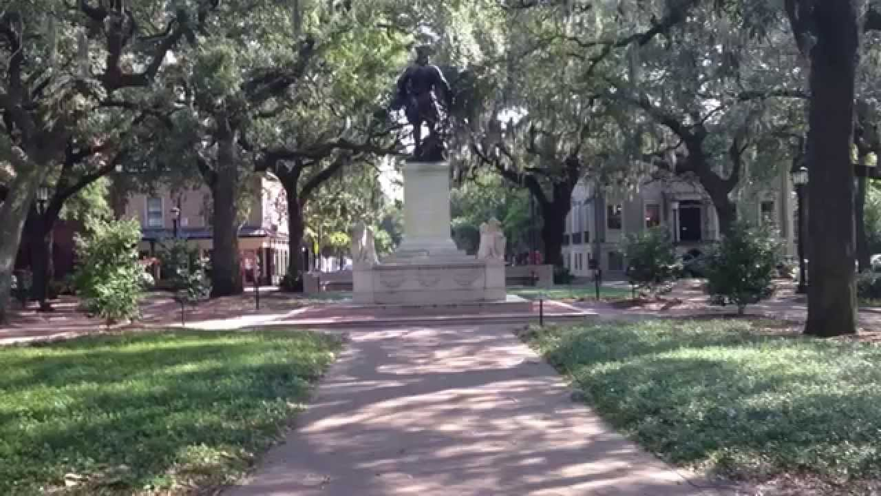 Forrest Gump Savannah Bench Location Youtube