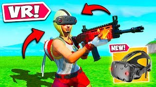 *NEW CONCEPT* PLAY FORTNITE IN VR?! - Fortnite Funny Fails and WTF Moments! #825