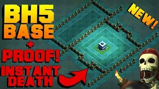 """NEW BUILDER HALL 5 BASE ANTI 2 STAR 2017! BH5 BUILDER BASE """"MR.ROBOT""""! - CLASH OF CLANS(COC)"""