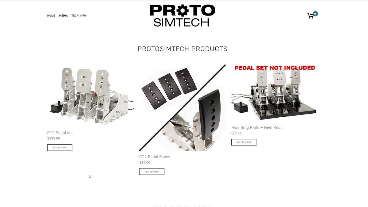 ProtoSimTech PT2 pedal set discussion