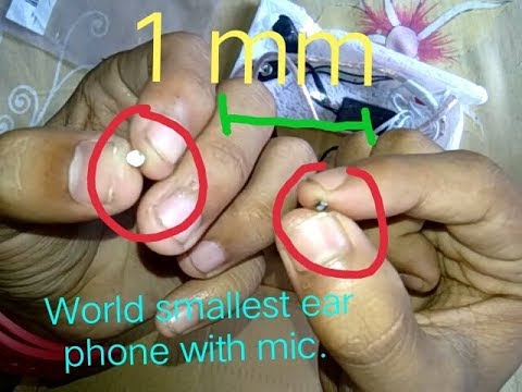In ear bluetooth headset with microphone