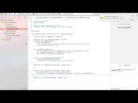 IOS Swift Native+Javascript (Hybrid) Communication