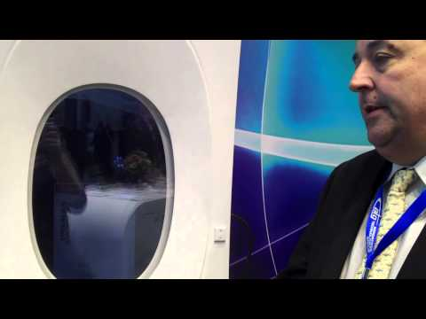 ATG (Aerospace Technology Group) launches its new product at Aircraft Interiors 2013