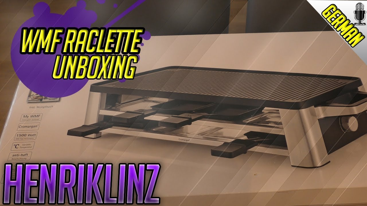 unboxing wmf lono raclette grill youtube. Black Bedroom Furniture Sets. Home Design Ideas