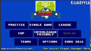 AfterTouch Soccer, the Kick Off 2 remake: first gameplay video!