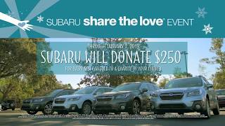 Share the Love with a new Subaru from Parkway of Wilmington