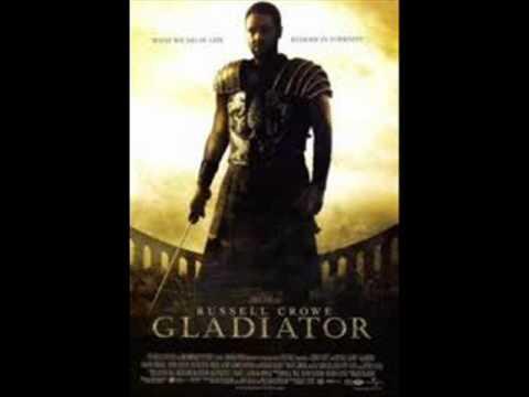 colonna sonora il gladiatore da
