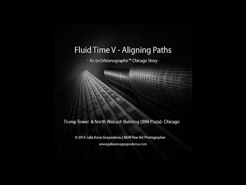 Black and White Fine Art Tutorial - Vision Composition Processing - Trump Tower - Chicago