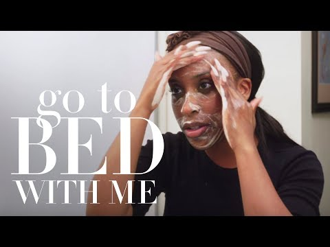 Jackie Aina's Nighttime Skincare Routine  Go To Bed With Me  Harper's BAZAAR
