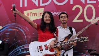 Dawin Dessert Cover By Devta Pramesthi Penyanyi Muda Cantik Live Perform Pekan Raya Indonesia