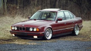 BMW E34 525 АнтиТаз ! катаем с Toyota Celica ! ремонт форсунок !