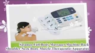electronic back shoulder body muscle massager