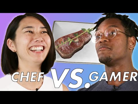 "Professional Chef Vs. Gamer Play ""ChefU"""