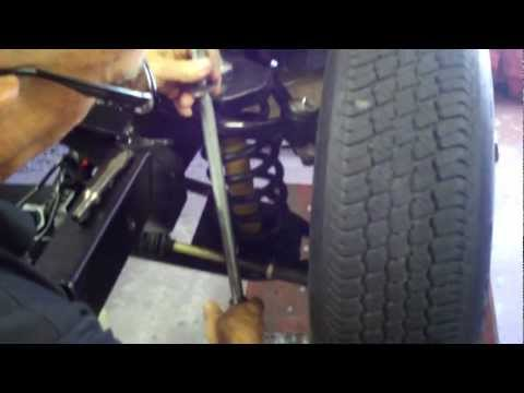 Coil spring installation Mustang II suspension, Part 6 1/2