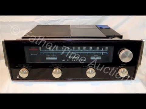 Online Only Auction Vintage Stereo Equipment St Louis MO