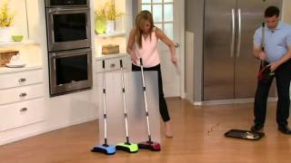 EasyEdge Lightweight Hard Floor Sweeper on QVC