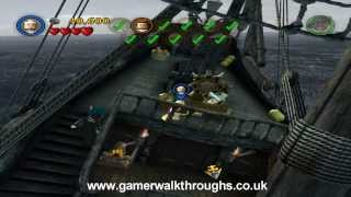 Lego Pirates walkthrough - Davy Jones