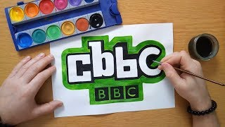How to draw a Cbbc logo  - Children's BBC (BBC)