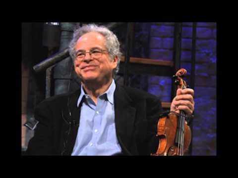 """Glazunov """"Violin Concerto"""" Itzhak Perlman"""