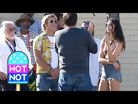 Once Upon A Time In Hollywood: Exc Brad Pitt and Margaret Qualley