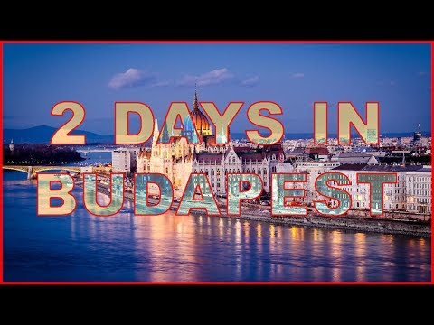 Weekend in Budapest Hungary