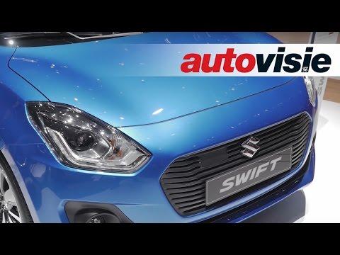 Genève 2017: is de nieuwe Suzuki Swift net zo leuk en dynamisch? - by Autovisie TV HD