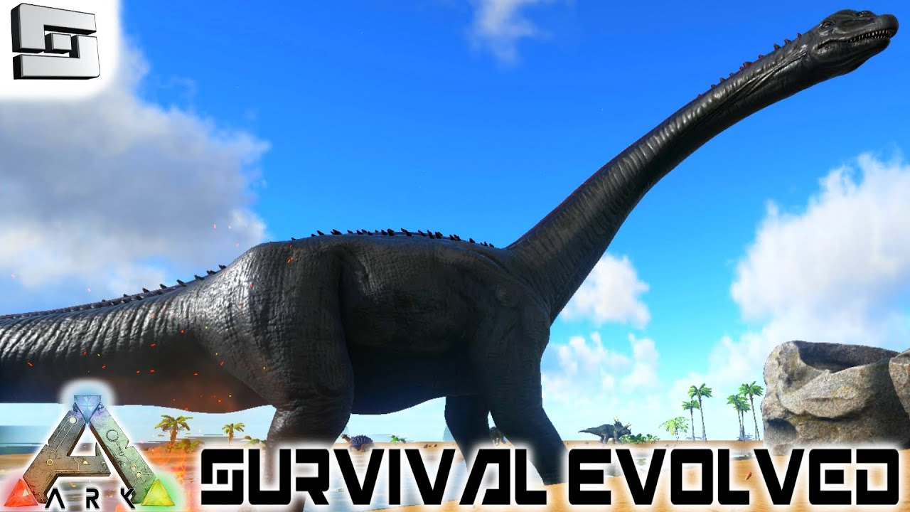 ARK: Survival Evolved - TAMING A LVL 100+ BRONTO!! E37 ...