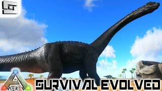 ARK: Survival Evolved - TAMING A LVL 100+ BRONTO!! E37 ( Brontosaurus / Gameplay )