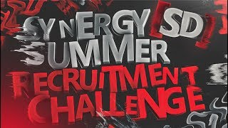 Synergy Summer Recruitment Challenge #SSRC