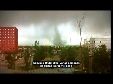 Weather Phenomenon in El Paso, Texas