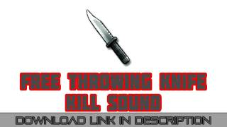 MW3 Throwing Knife Killsound Download (FREE)