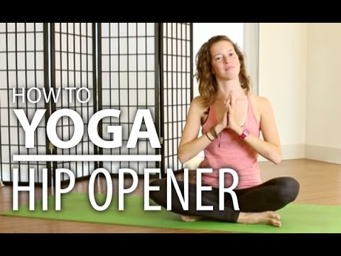 Yoga Hip Stretches Gentle Hip Opener For Any Body Type Yoga Flow Youtube