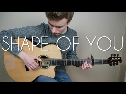 Ed Sheeran - Shape Of You - Fingerstyle Guitar Cover (Free Tabs) | Mattias Krantz
