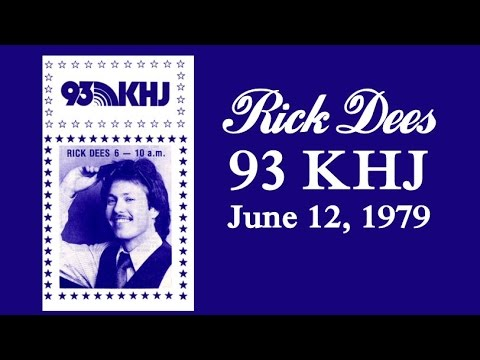 Rick Dees on KHJ, June 12, 1979