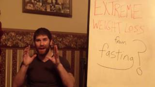 Scary, Extreme Weight Loss from Intermittent Fasting??? Five to 10 Lbs of Fat Lost in Only a Week???