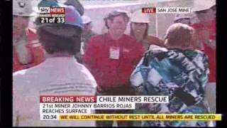 Chile Miners Rescue 21 Johnny Barrios Rojas Wife & mistress issues