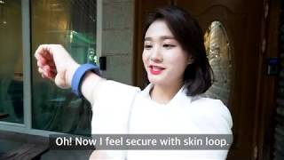 Good morning my skin with Skin loop
