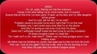 Machine Gun Kelly feat. Anna Yvette - All We Have - Lyrics