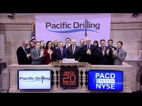 Pacific Drilling rings the NYSE Opening Bell
