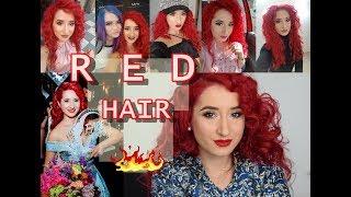 Cu ce imi vopsesc parul ROSU #redhair