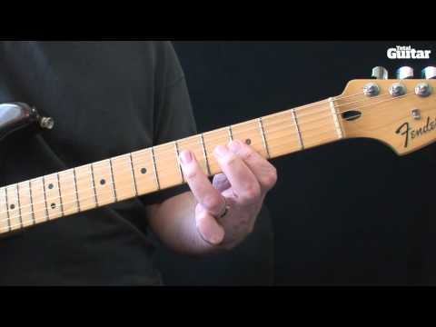 Guitar Lesson: Learn how to play Red Hot Chili Peppers - Funky Monks